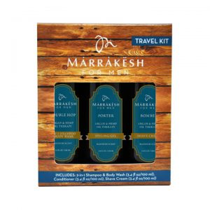 marrakesh for men travel kit