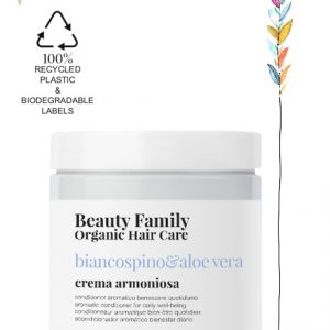 Conditioner-biancospino-e aloe vera beauty family organic haircare studio21 parrucchieri nook