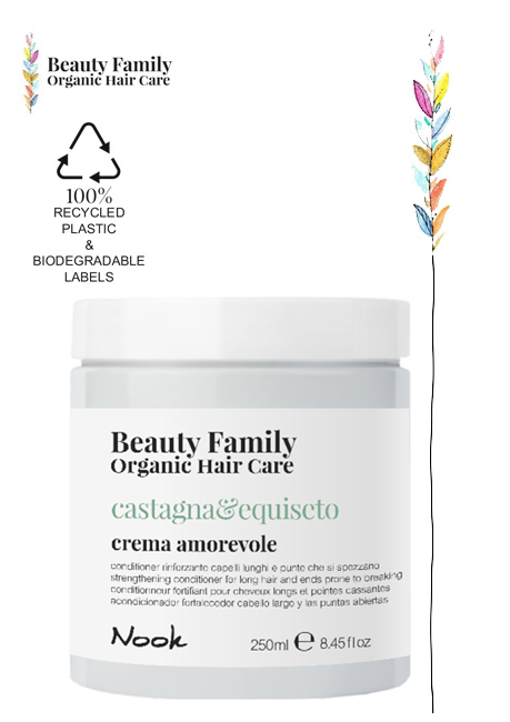 Conditioner-castagna-equiseto beauty family organic hair care studio21 parrucchieri nook