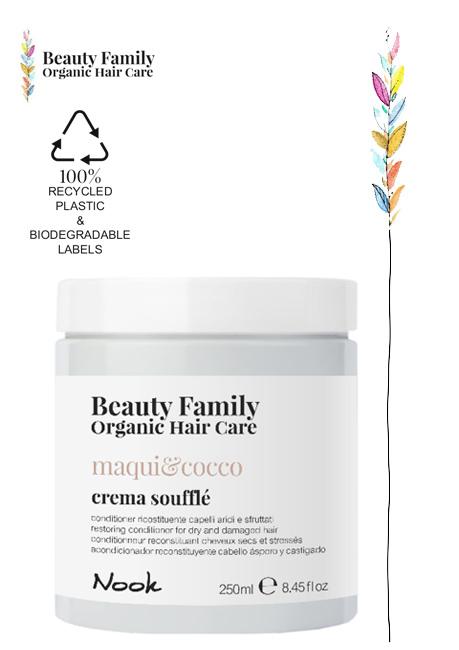Crema-souffle-maqui e cocco beautyfamily organic hair care