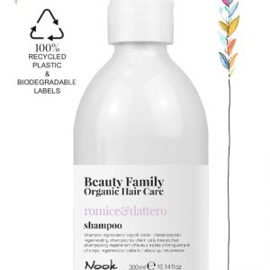 Shampoo-Romice-E dattero BEAUTY FAMILY ORGANIC HAIR CARE STUDIO21 PARRUCCHIERI