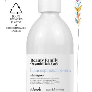 Shampoo-biancospino-beauty family organic hair care studio21 parrucchieri nook