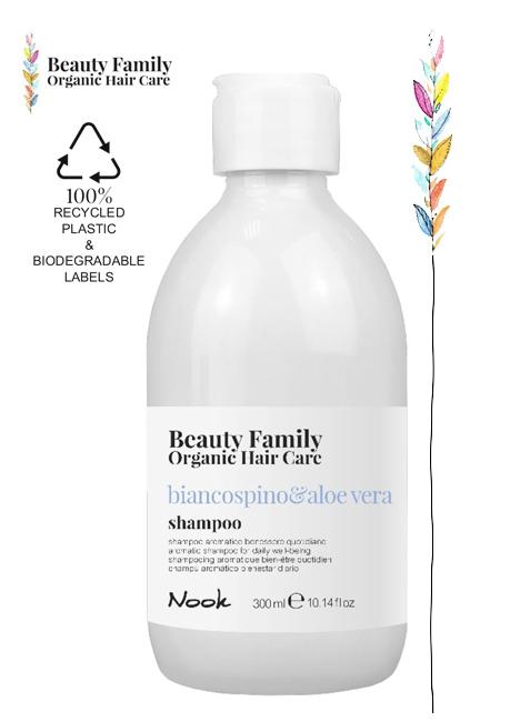 Shampoo-biancospino-beauty family organic hair care studio21 parrucchieri nook