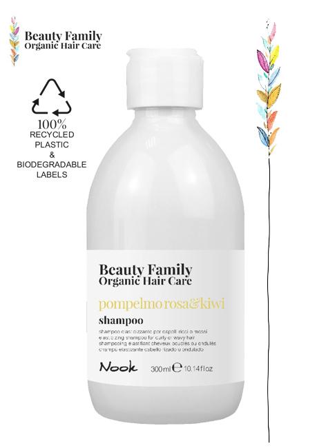 Shampoo-pompelmo-ROSA & KIWI NOOK BEAUTY FAMILY ORGANIC HAIR CARE NOOK STUDIO21 PARRUCCHIERI