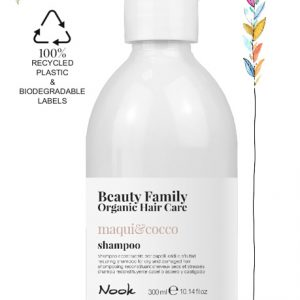 shampoo-maqui-cocco-beauty family organic hair care studio21 parrucchieri nook